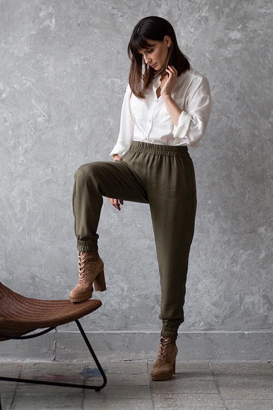 {b}KLAUDYNA 168 cm inżynierka koszula XS spodnie XS