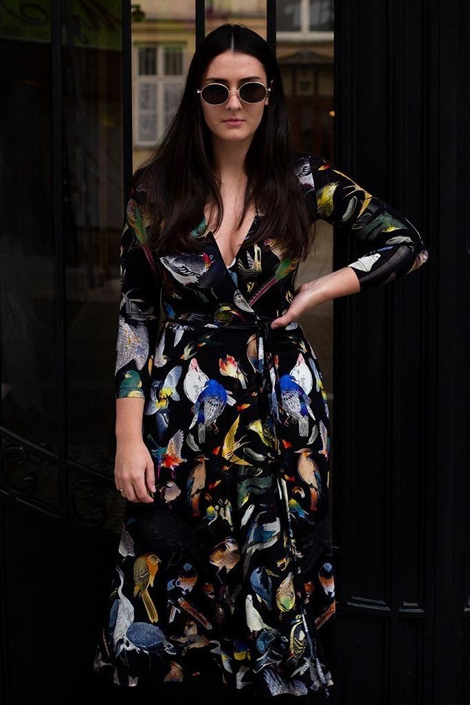 {w}MARTYNA 165 cm PR & marketing coordinator sukienka XS