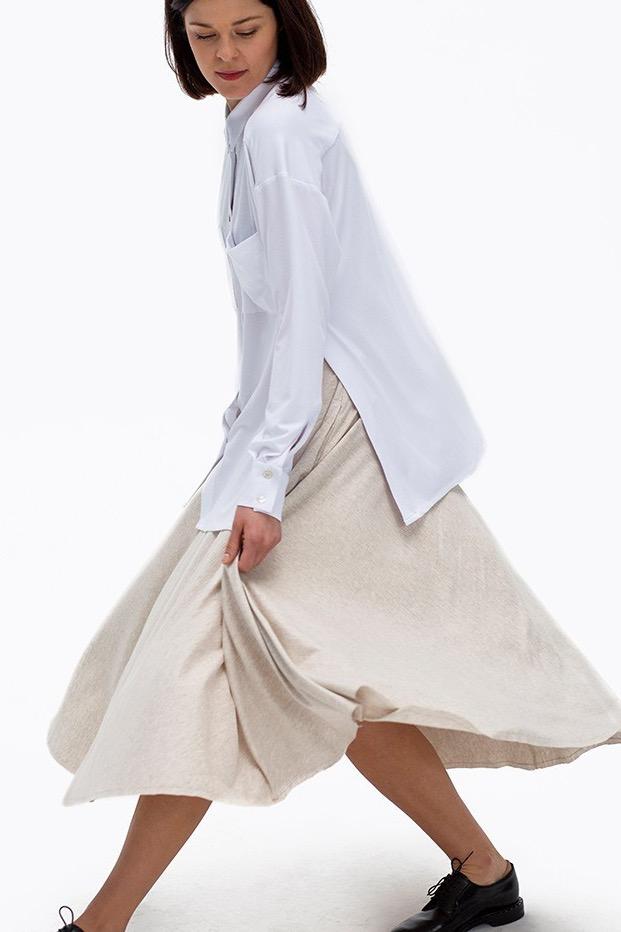 {b}ANGELIKA 170 cm aktorka koszula XS spódnica XS