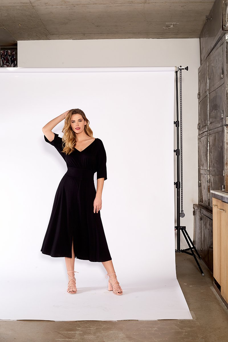 KIOTO DRESS czarna