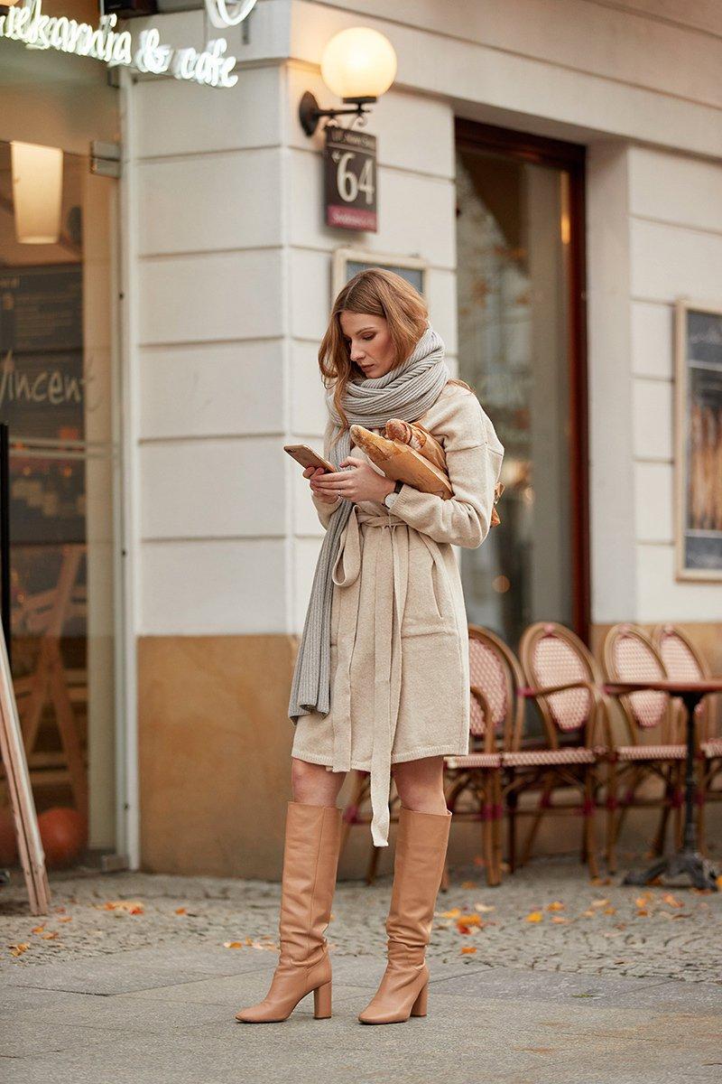 ANNA WINTER beige