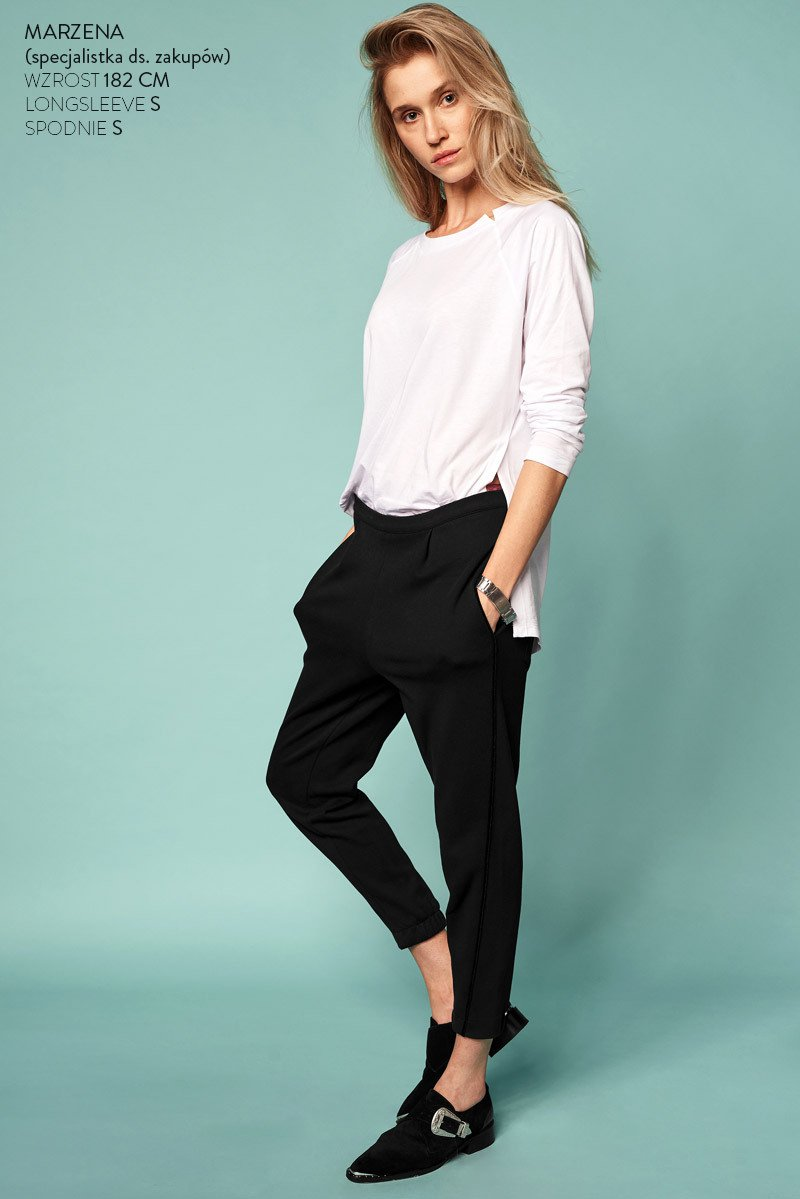 CIGARETTE PANTS black