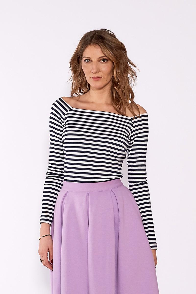 MODERN BEAUTY eco navy stripes