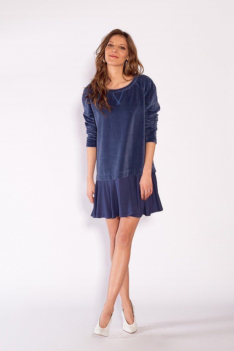 AFTER PARTY DRESS denim