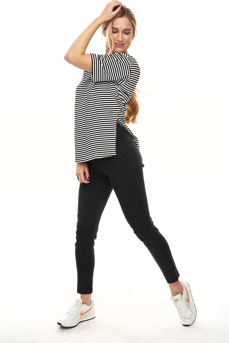 TEE-AMO black stripes