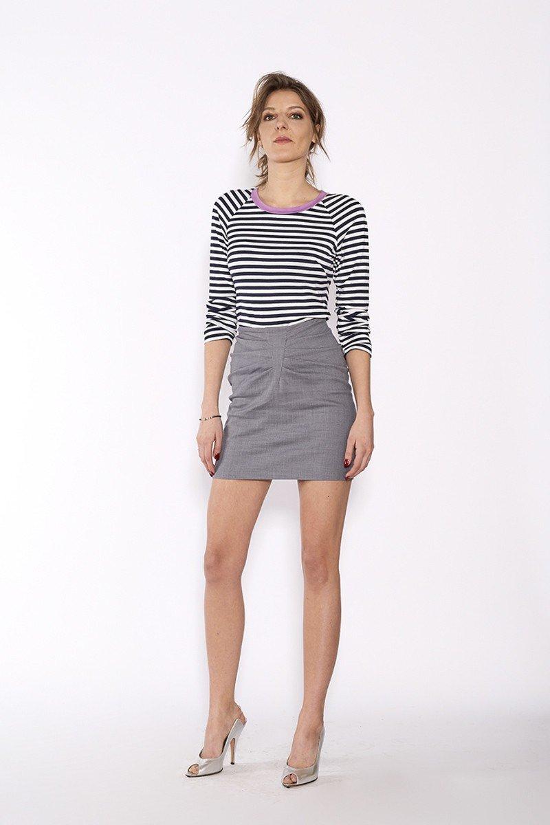 SAWA LONGSLEEVE navy stripes