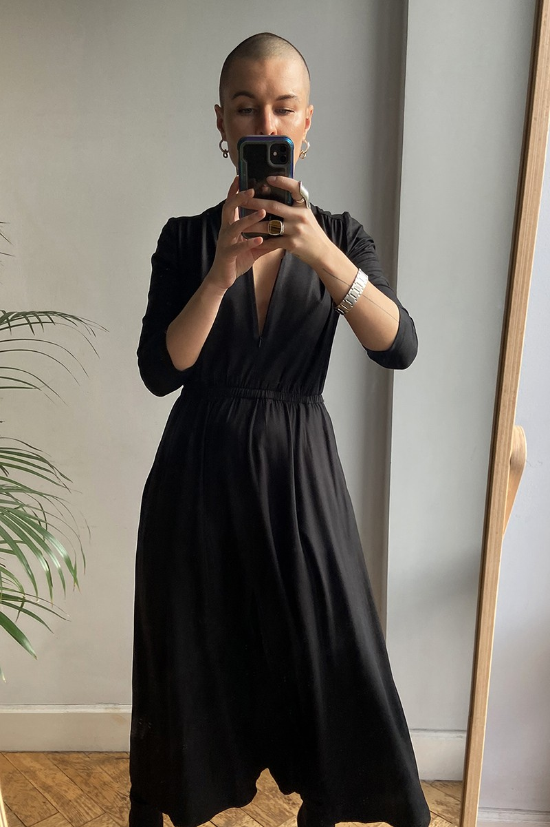 LIBERTY DRESS czarna