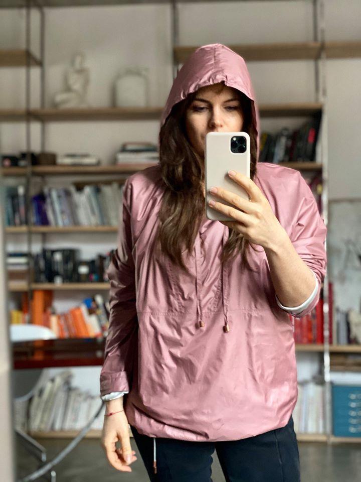 LADY IN RAIN różowa