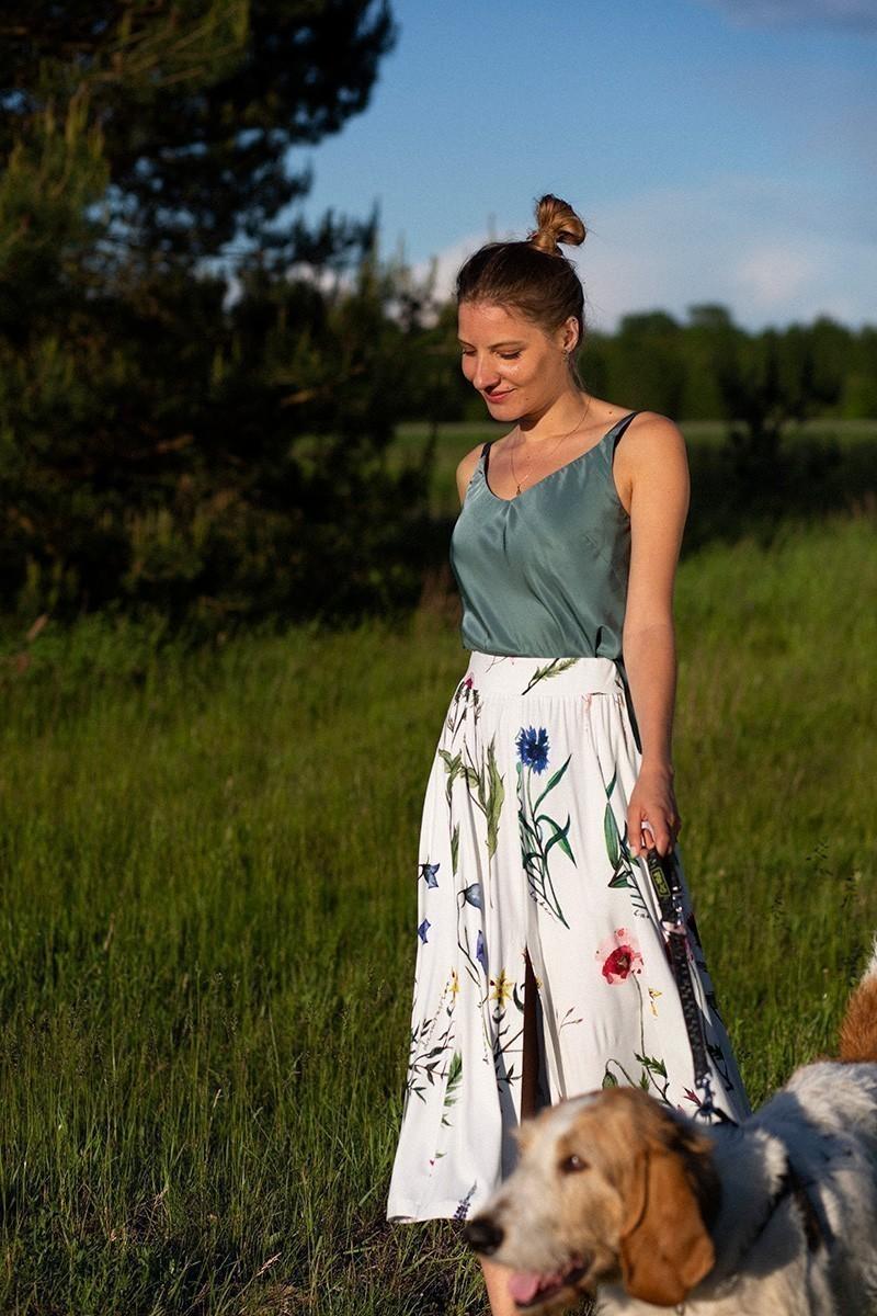 DANCE WITH ME bez paska kwiaty polskie