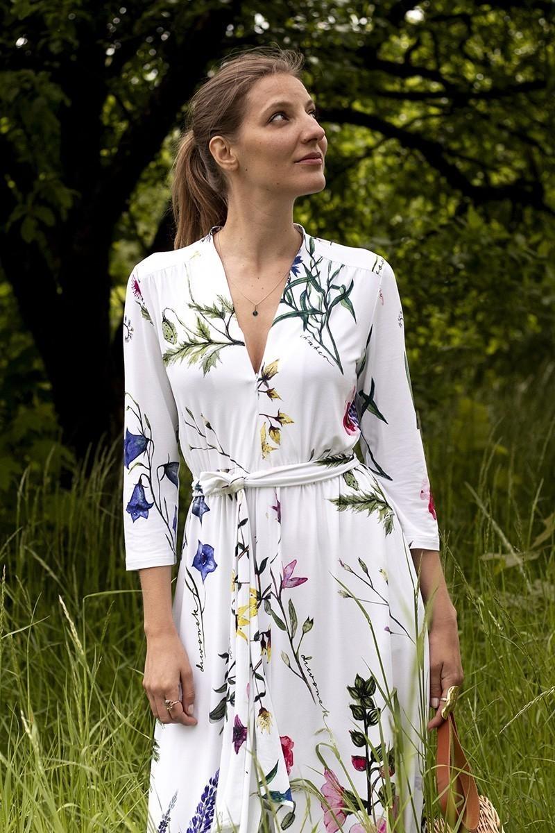 LIBERTY DRESS kwiaty polskie