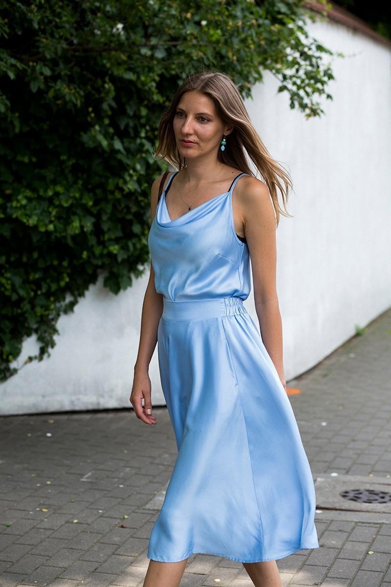 PRIMA ¾ celeste blue
