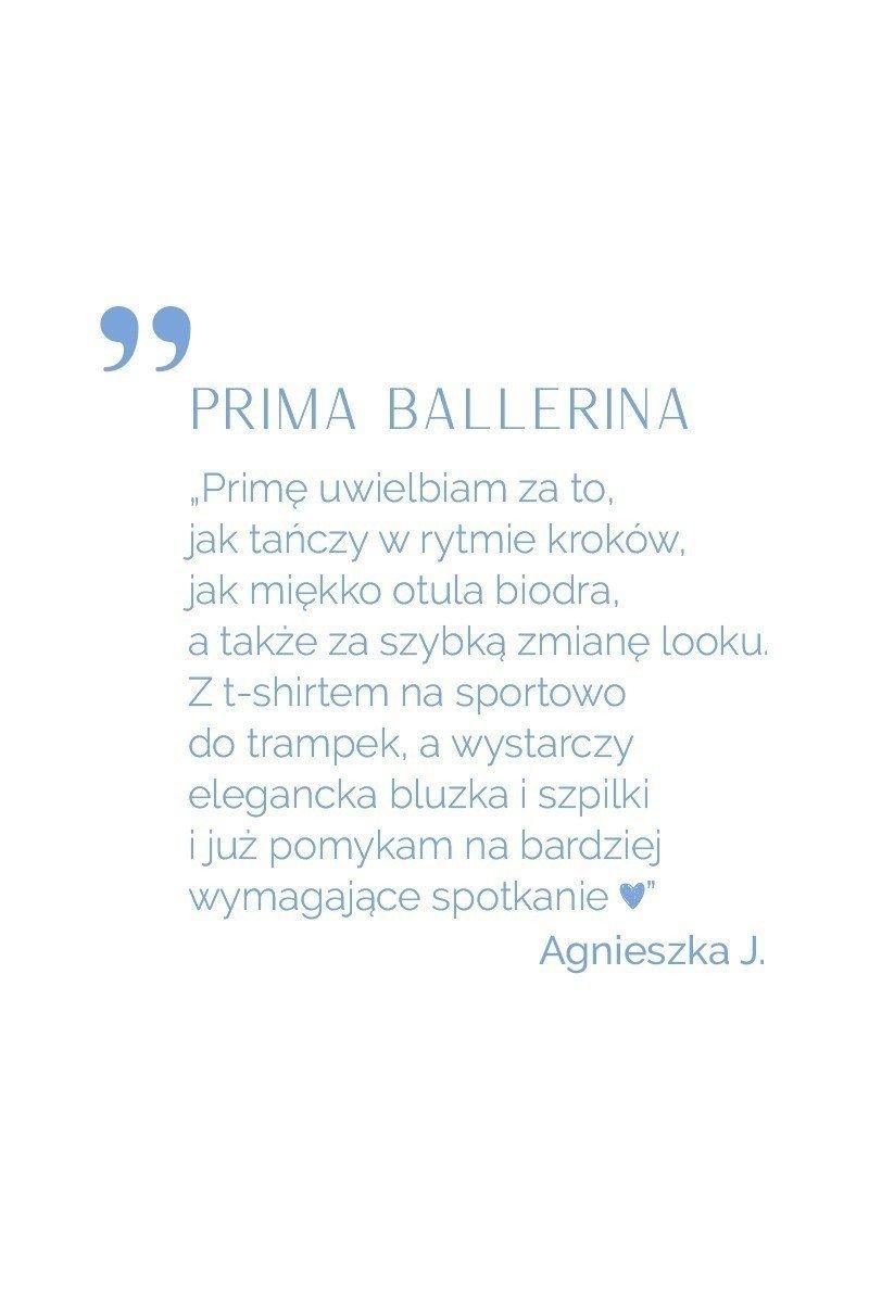 PRIMA BALLERINA miedziana