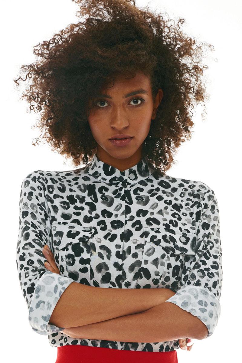 SAFARISKA print czarna pantera
