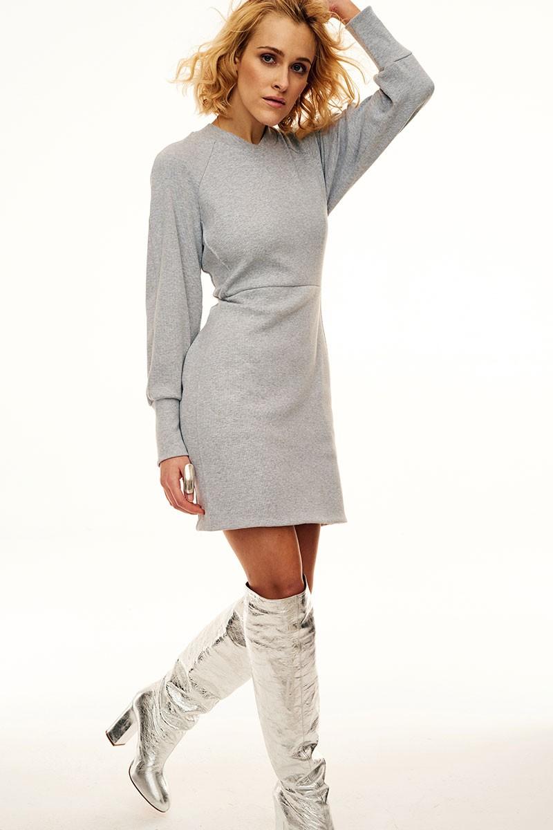 RISKY GIRL gray melange
