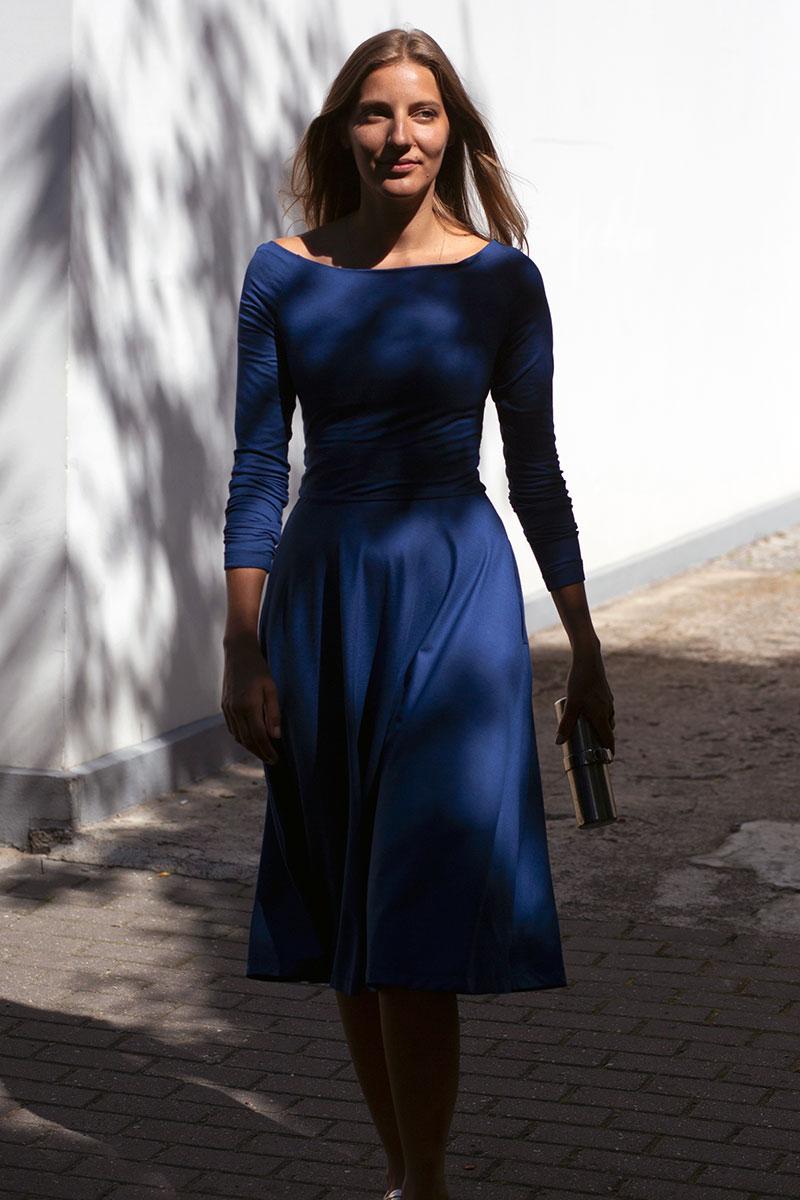 THE MOST BEAUTIFUL GIRL long sleeve kingdom blue