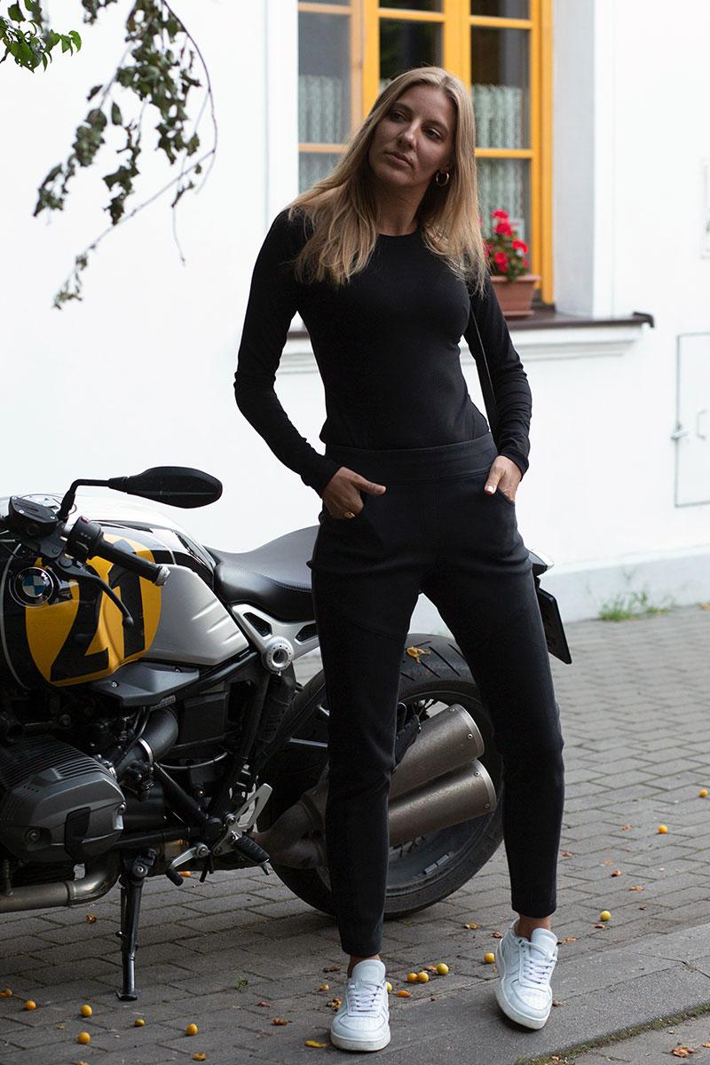 SAWA LONGSLEEVE black