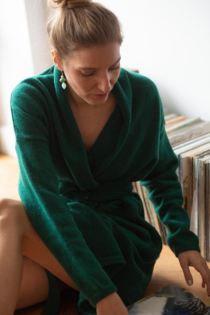 ANNA WINTER dark green