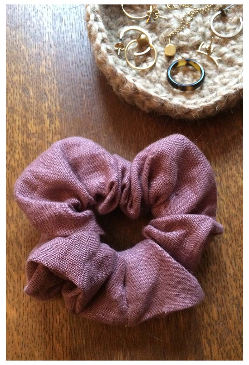 SCRUNCHIE dusty rose