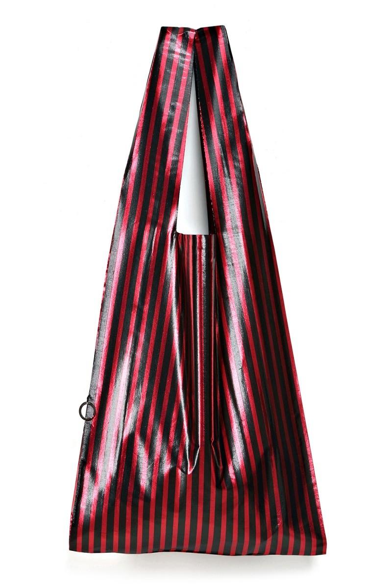 CARLA ROSSA red stripes