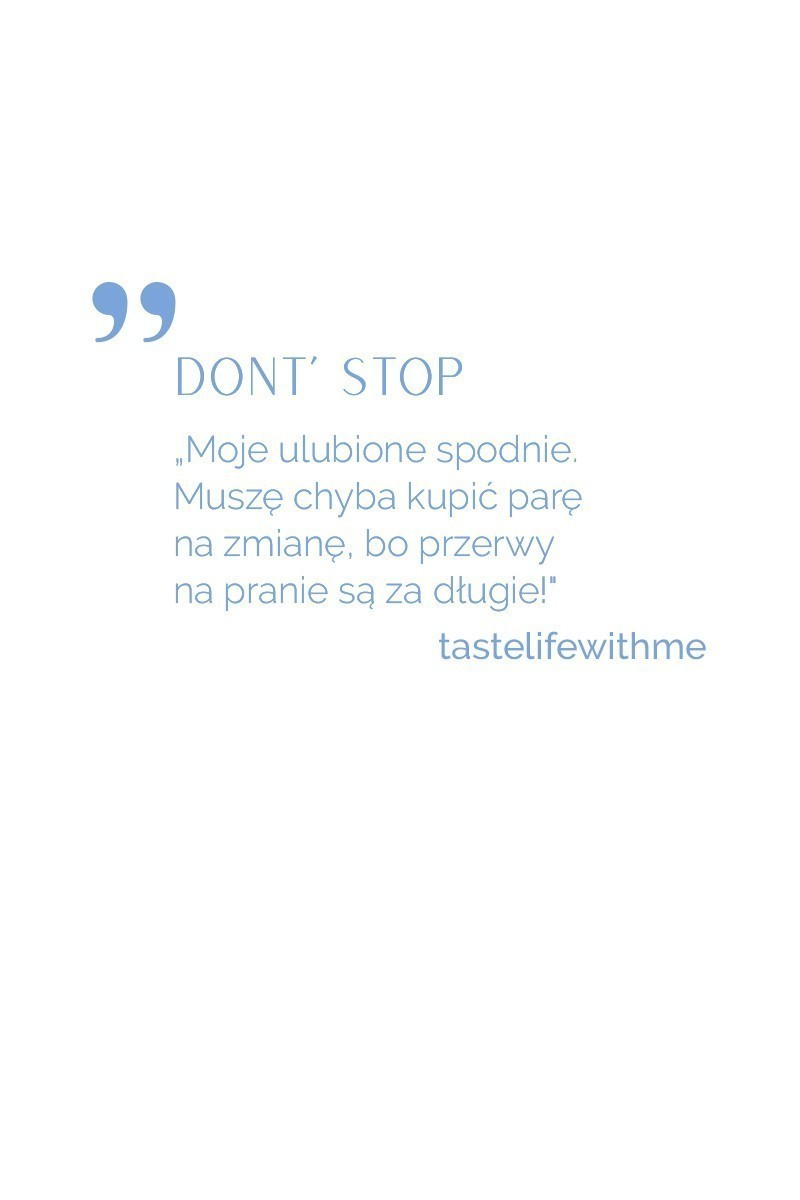 DON'T STOP black