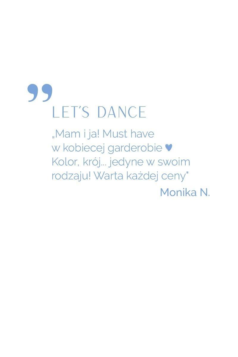 LET'S DANCE szary melanż
