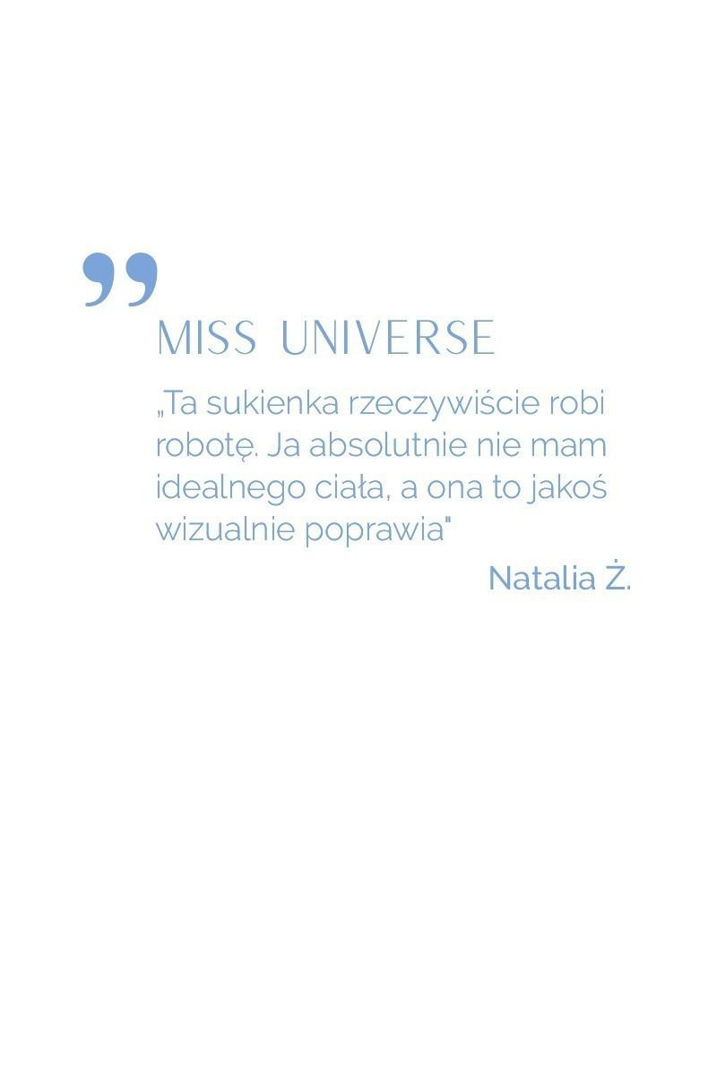 MISS UNIVERSE navy blue