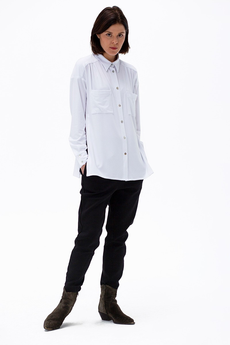 GENTLEWOMAN jersey white