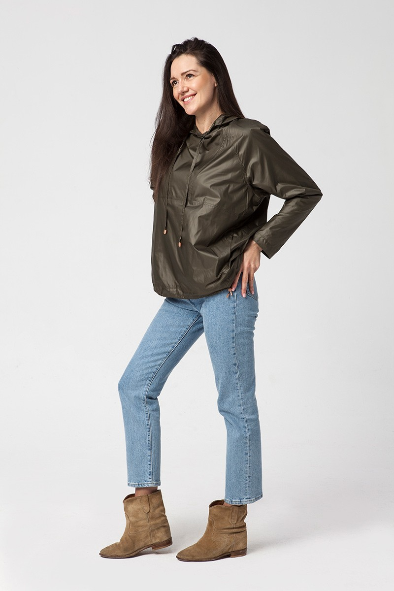LADY IN RAIN khaki