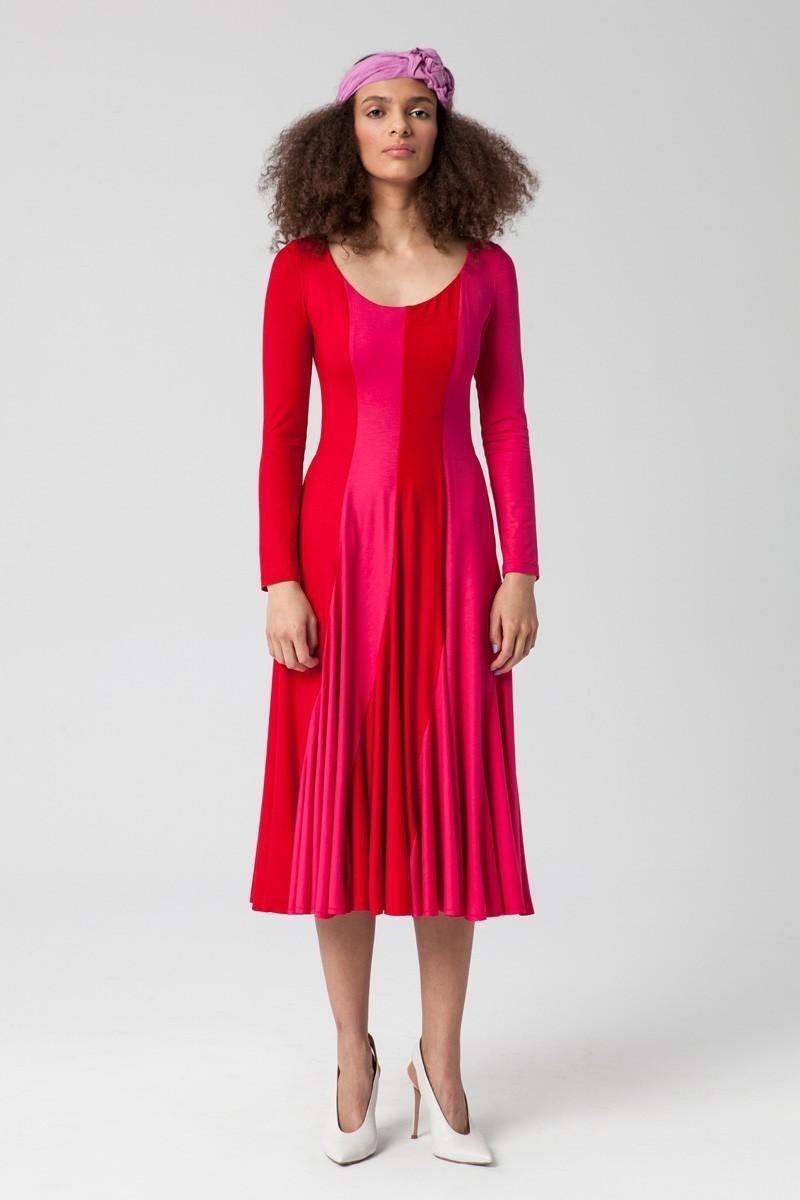 FEVER hot pink/czerwona