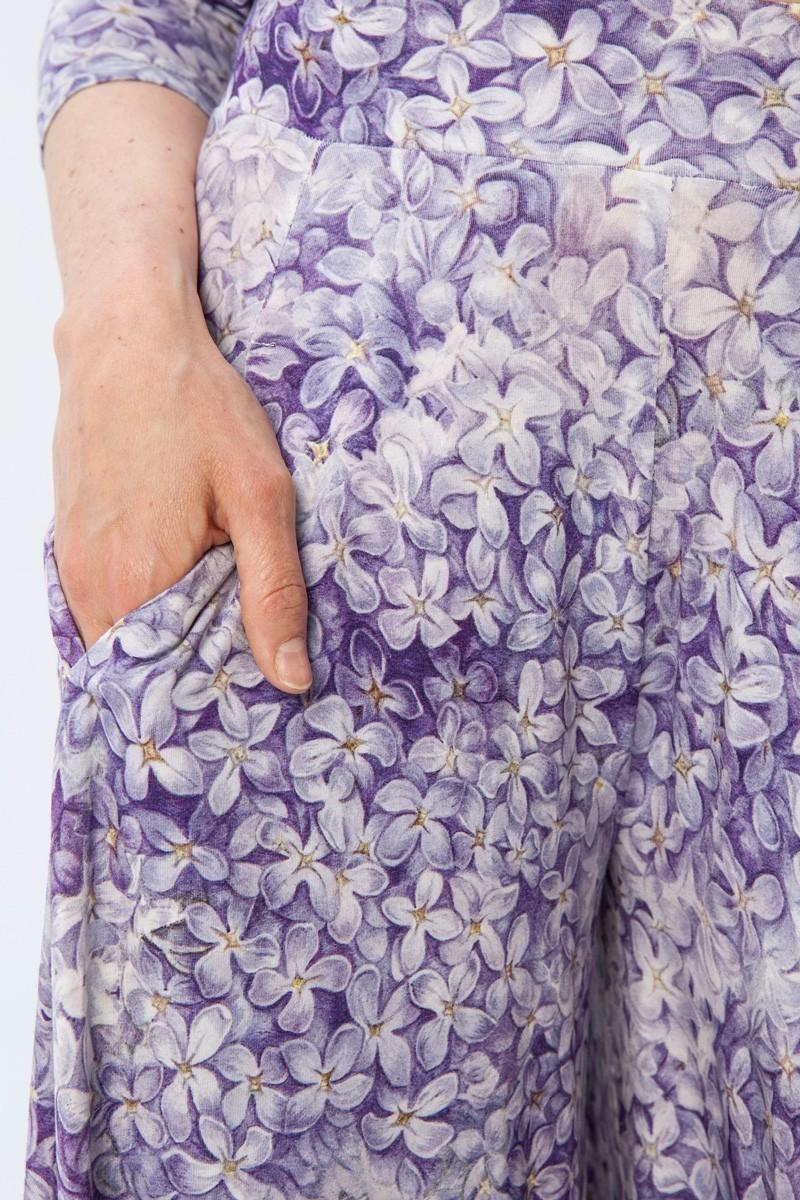 PRIMAVERY lilac flowers print