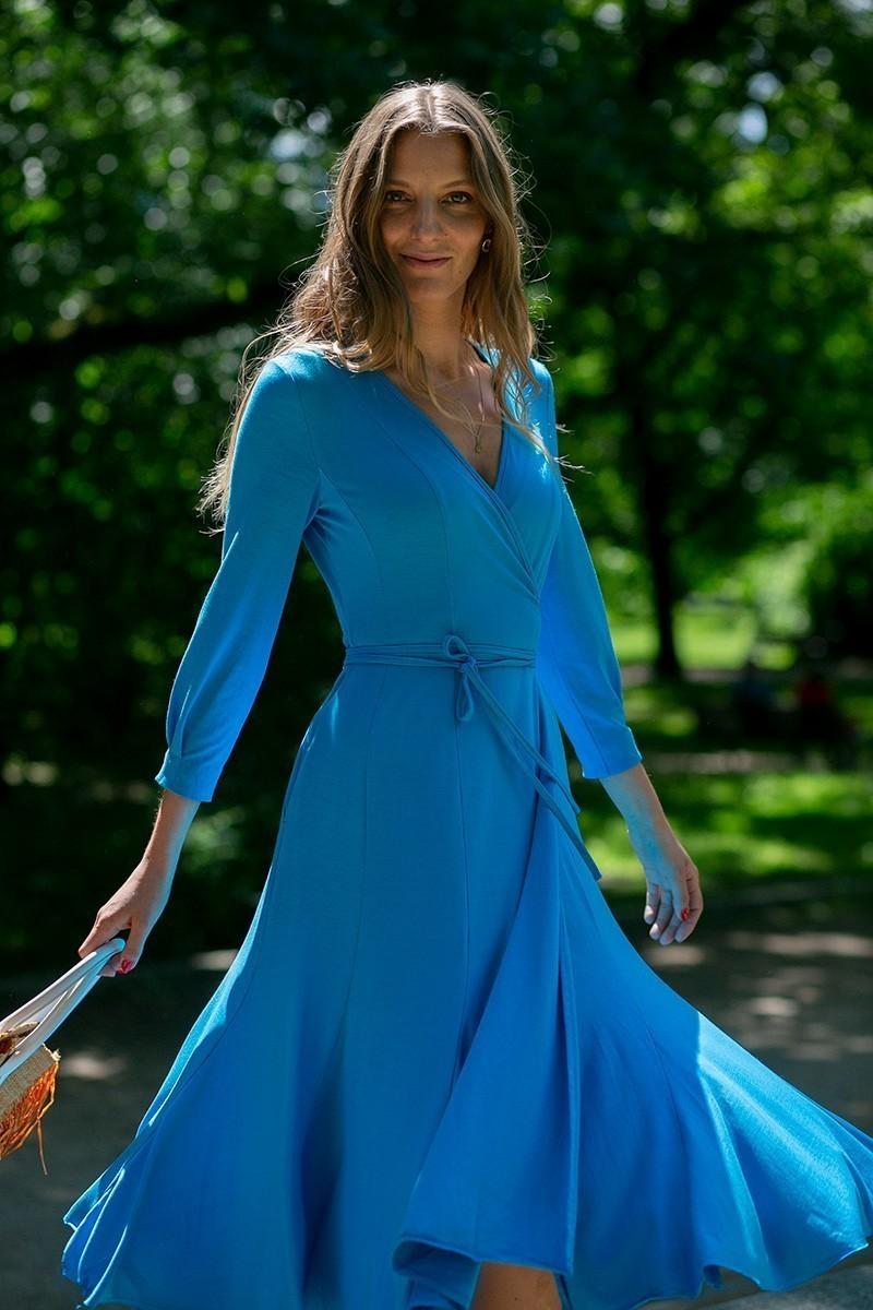 HAPPY DRESS azure