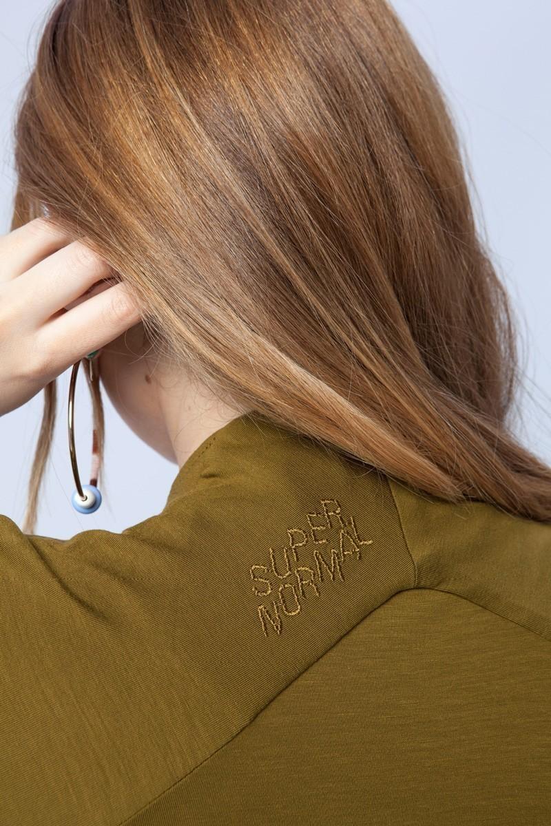 GIRL IN JAPAN złote khaki