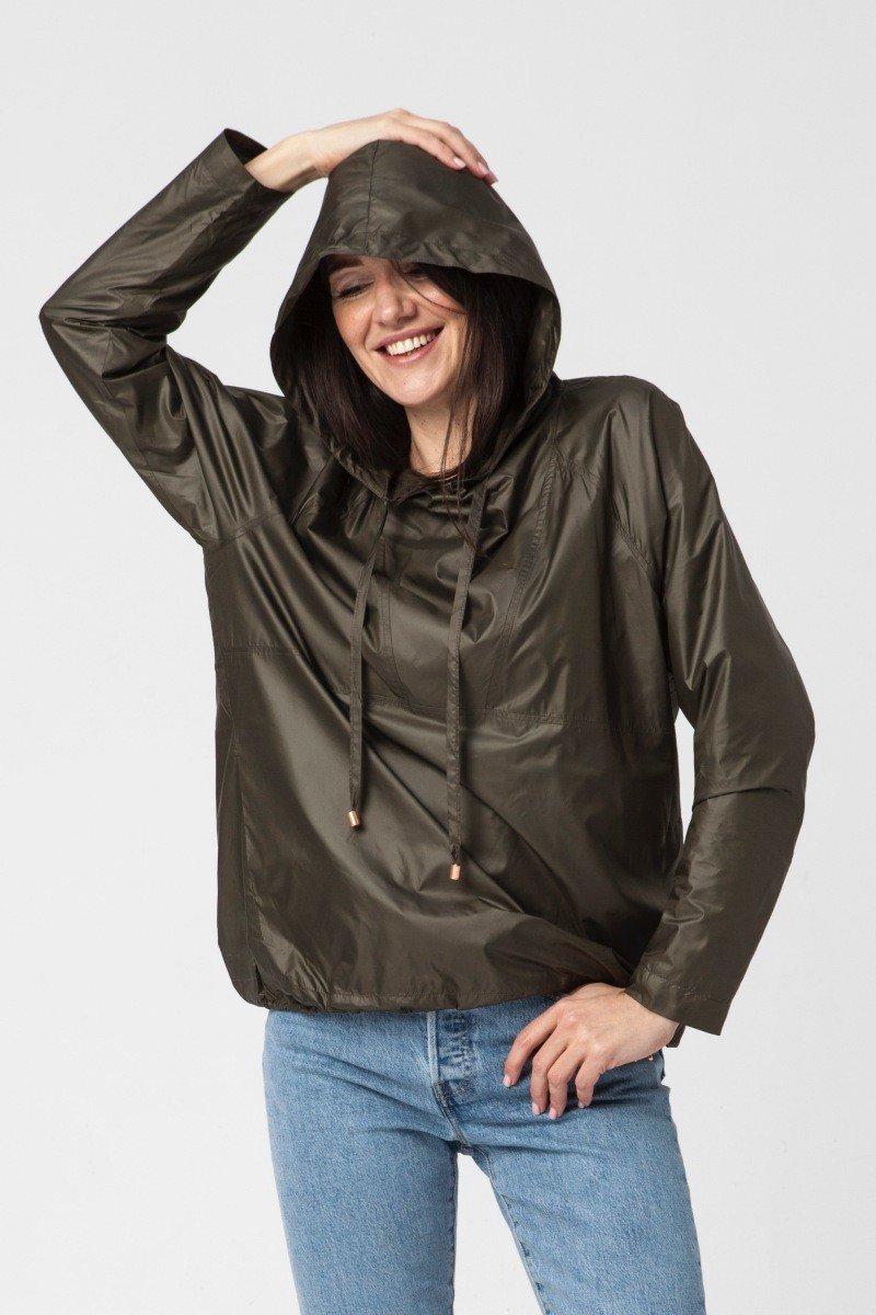 LADY IN RAIN khaki