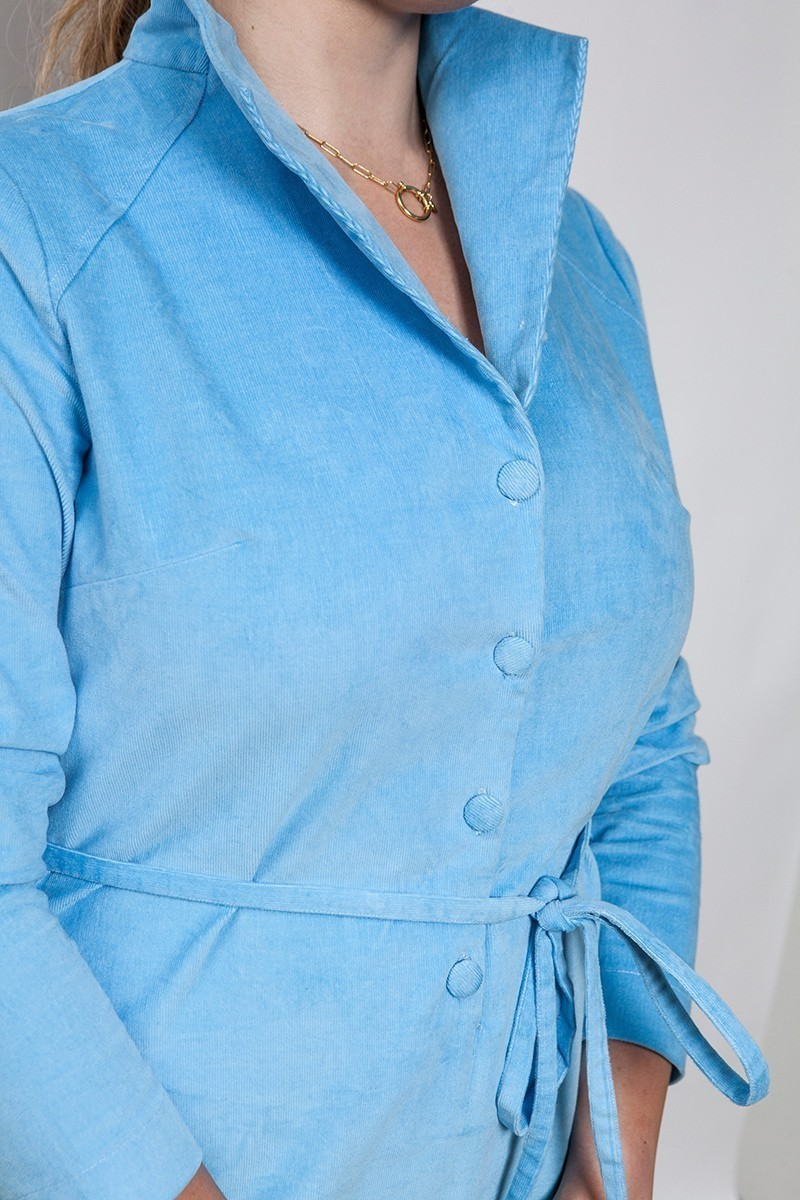 MRS. ROBINSON CORDUROY baby blue