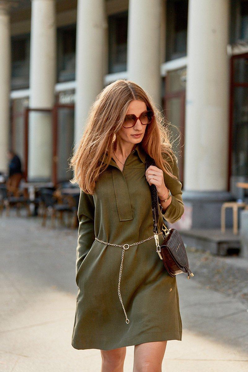 BELLE DE JOUR military green