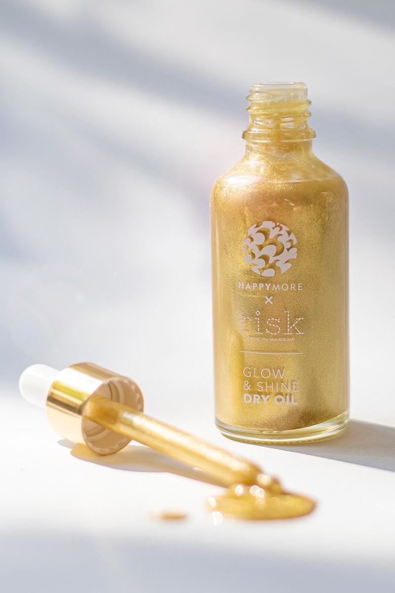 Błyskotliwy olejek Glow & Shine Dry Oil Golden Sapphire