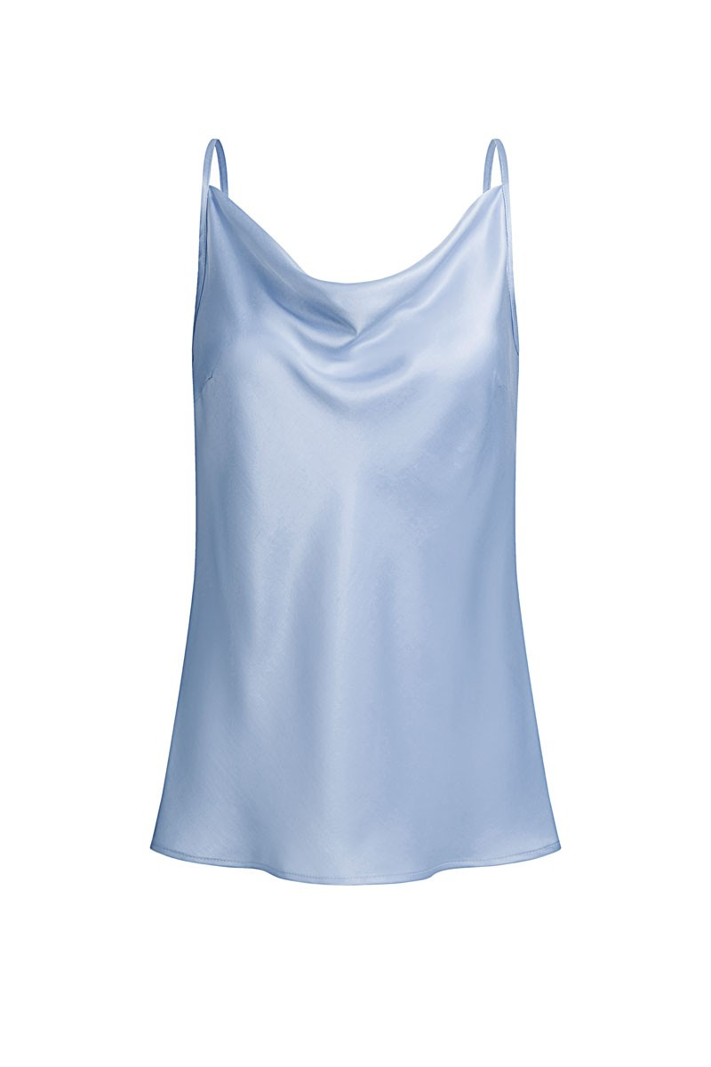 TOP DI TREVI celeste blue