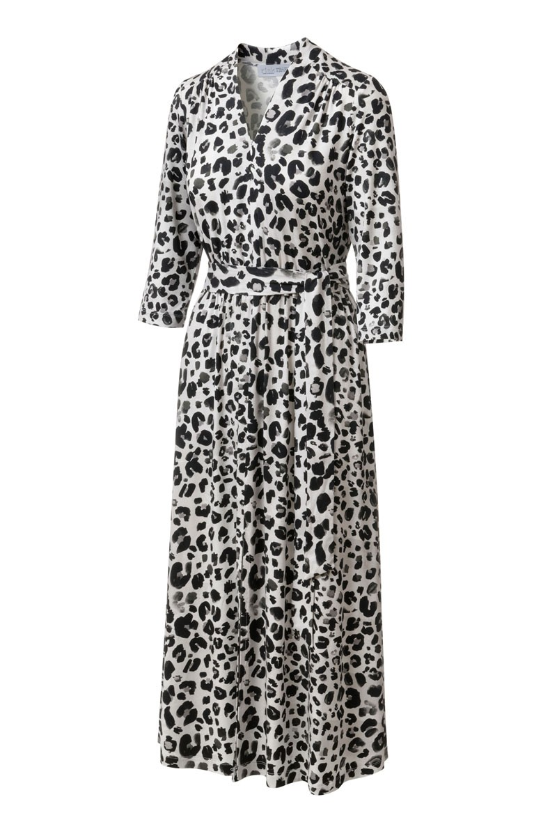 LIBERTY DRESS black panther print