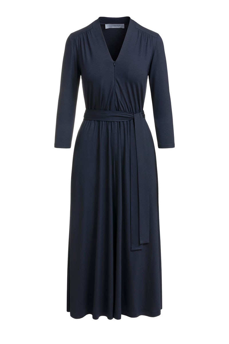 LIBERTY DRESS dark petrol