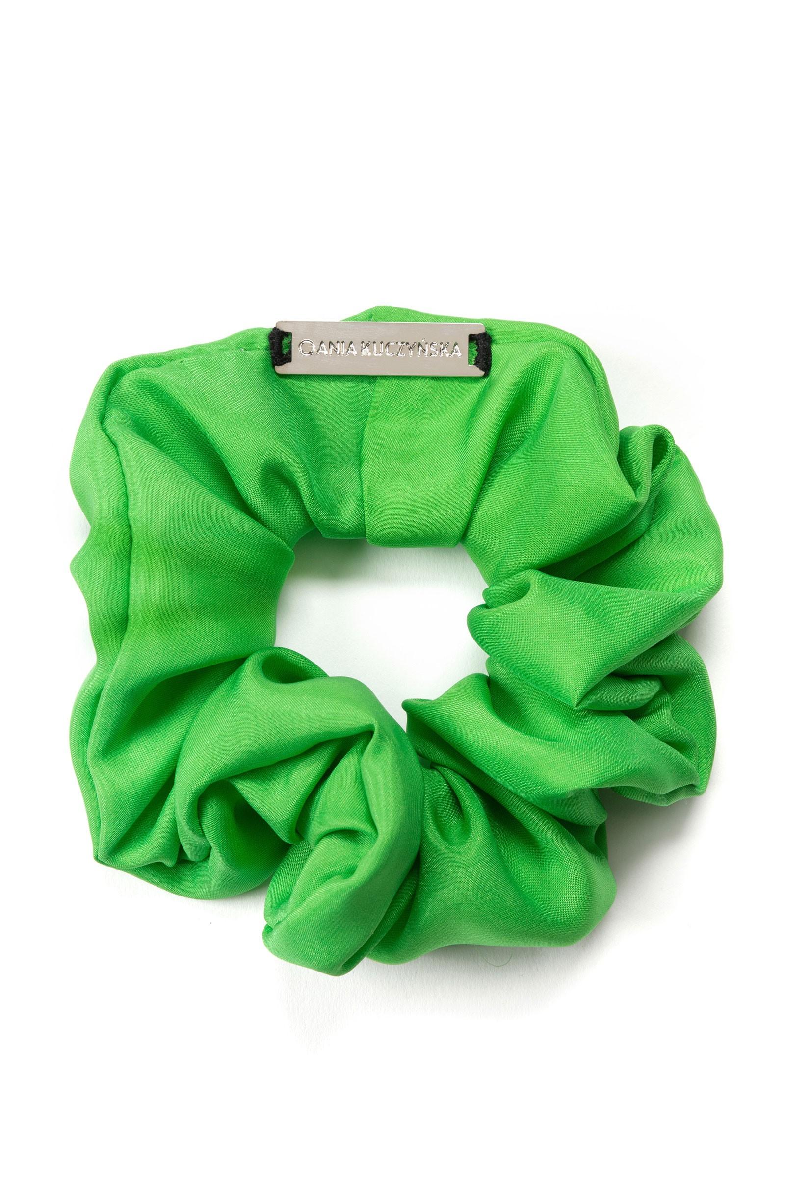 LOU LOU VERDE SILK green