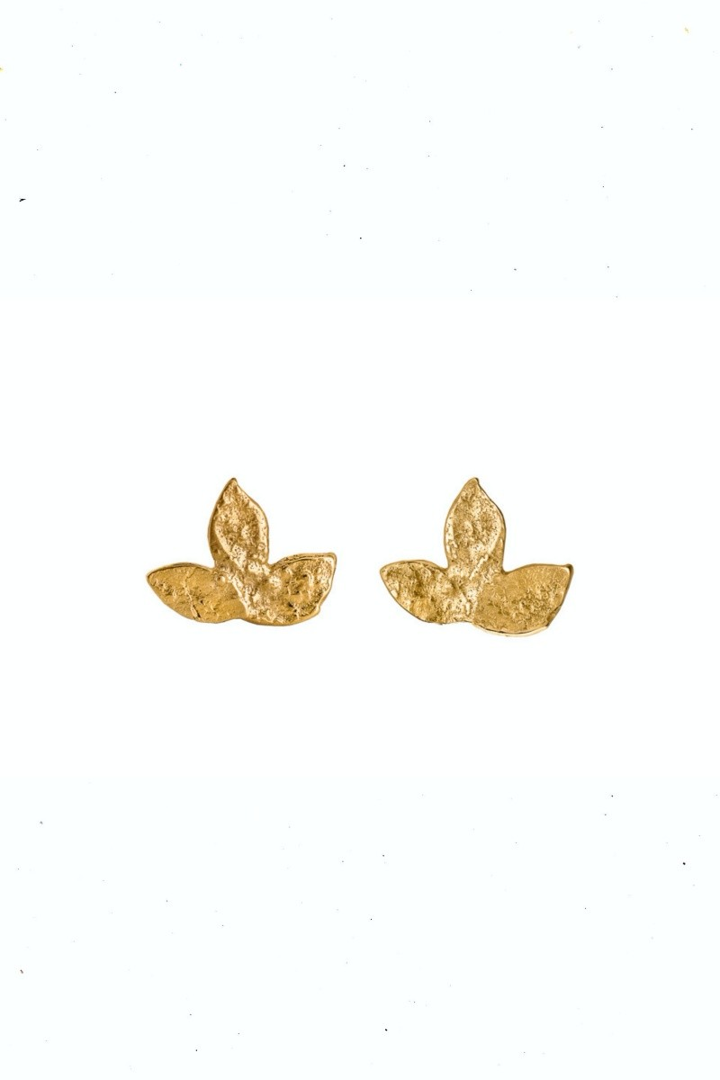 MINI LAURELS gold gilded