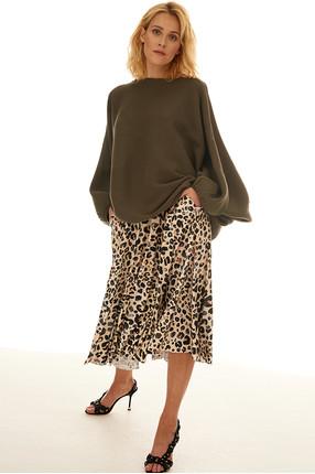 {b}URSZULA 164 cm projektantka graficzna sweter  XXS/XS spódnica XS