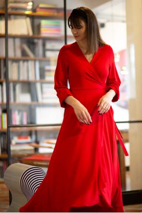{w}KLAUDYNA 168 cm inżynierka sukienka XS