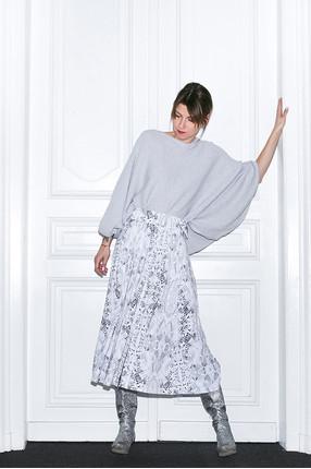 {b} AGNIESZKA 173 cm projektantka  sweter S/M spódnica XS