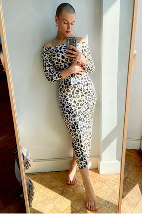 {w}KLARA 162 cm współzałożycielka Riska sukienka XS