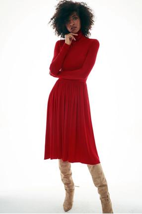 {b}ALMA 181 cm mediatorka, kolorystka sukienka XS