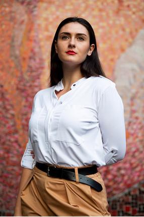 {w}MARTYNA 165 cm junior PR coordinator koszula S spodnie S