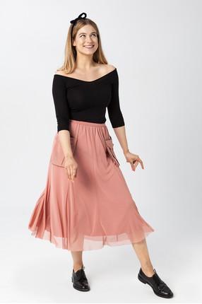 {b}KINGA 175 cm make-up artist skirt S top S
