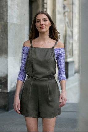 {b}IDA 172 cm founder of BOART.store dungarees XS