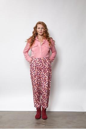 {b}ULA 175 cm modelka spodnie S koszula S